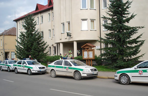 Biržų policija