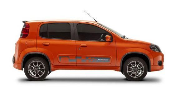 Gamintojo nuotr./Fiat Uno Sporting bus gaminamas Brazilijoje