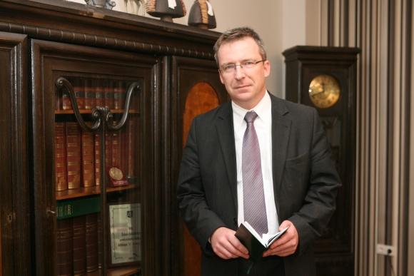 VU Teisės fakulteto dekanas Vytautas Nekrošius