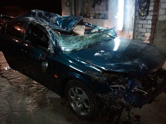 Rolando Žalgevičiaus nuotr./Per avariją sudaužytas automobilis