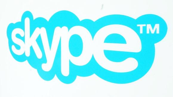 """""""Skype"""" logotipas."""