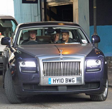 AOP nuotr./Guy'aus Ritchie Rolls Royce'as už 800 000 litų