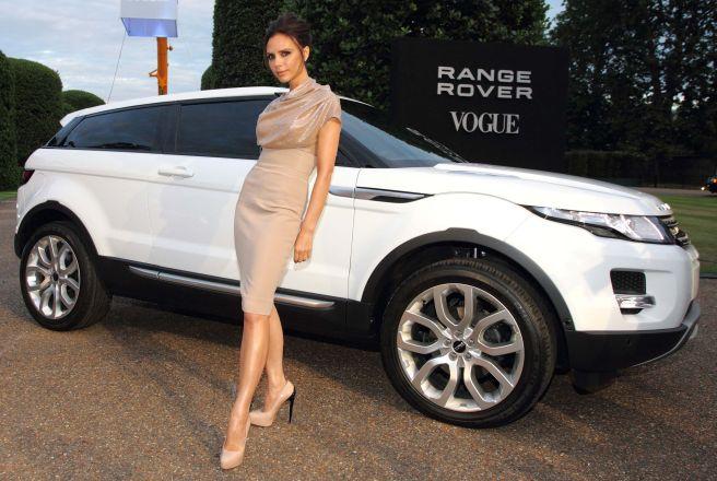 """Victoria Beckham ir """"Range Rover Evoque"""""""