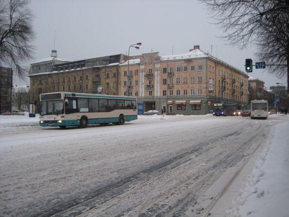 Klaipėdos gatvėse eismo sąlygos – sudėtingos.