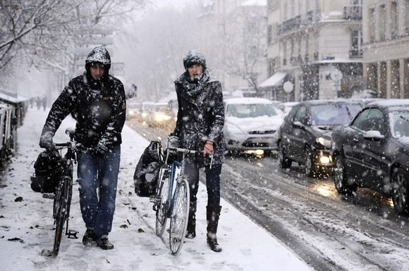 Sniegas Prancūzijoje