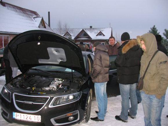 Organizatorių nuotr./AutoVikingai įvertino naująjį SAAB 9-5