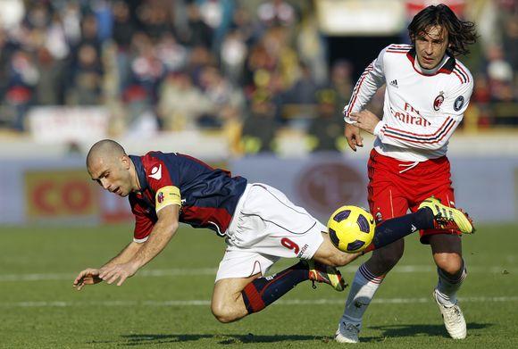 Milano futbolininkai tolsta nuo varžovų