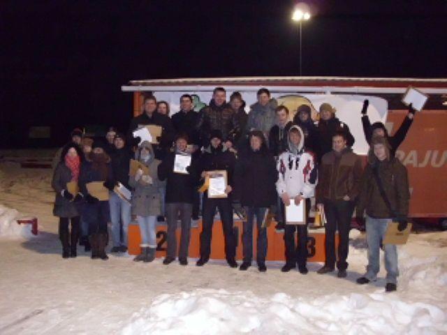 Paaiškėjo Vilniaus studentų kartingo lygos čempionai!
