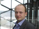 """Irmanto Gelūno/15min.lt nuotr./""""Swedbank"""" vyriausiasis ekonomistas Nerijus Mačiulis"""