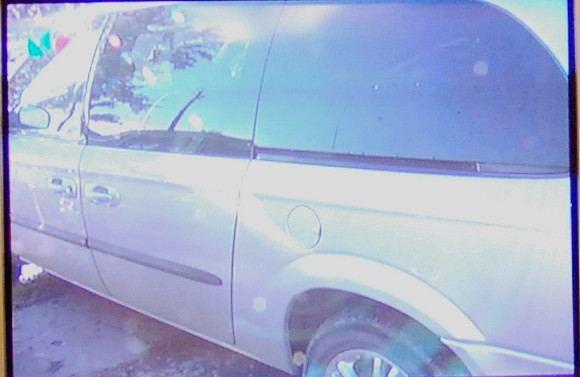 LNK žinių stop kadras/Jurgio Kažio automobilis
