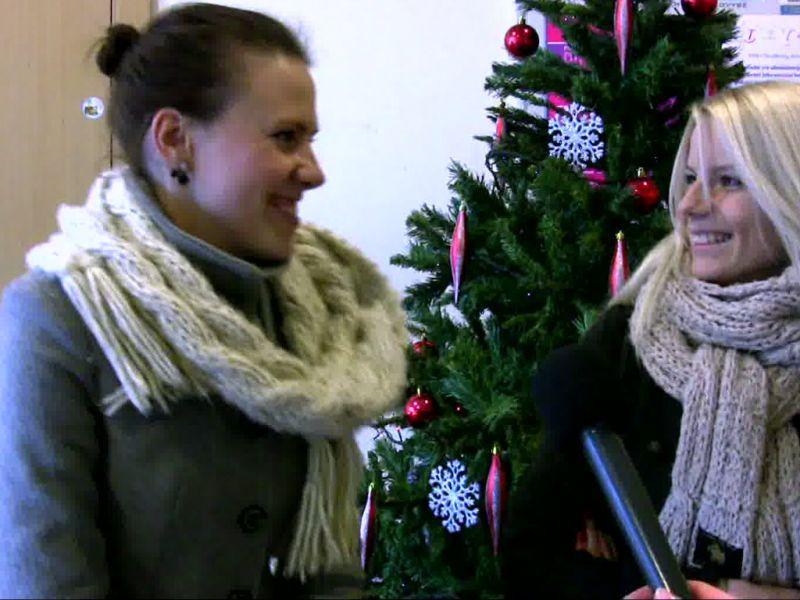 Studentų buvo klausiama, ką jiems reiškia Kalėdos.