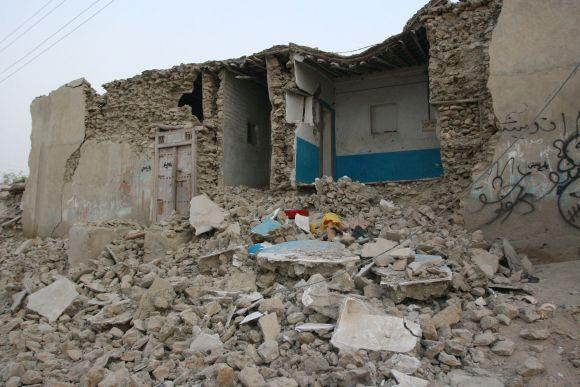 Archyvinė nuotrauka. Žemės drebėjimo Irane padariniai