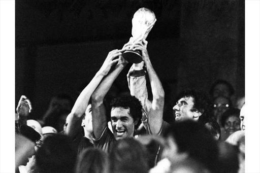 Italijos rinktinė 1982 metais tapo pasaulio futbolo čempione.