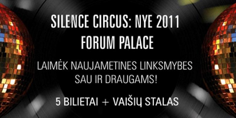 Silence Circus konkursas