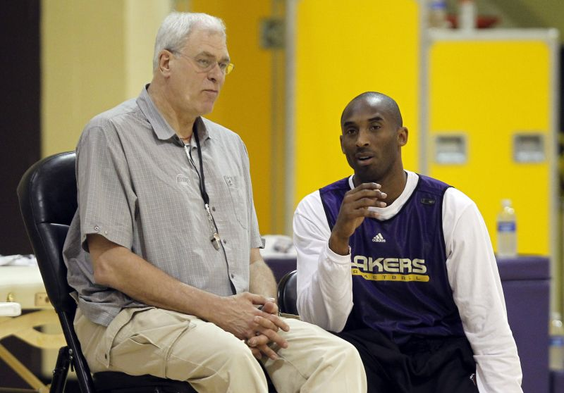 P.Jacksonas ir K.Bryantas