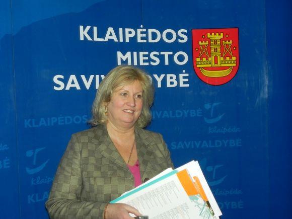 Klaipėdos savivaldybės ir valstybės darbuotojų profesinė sąjungos pirmininke tapo I.Šakalienė.