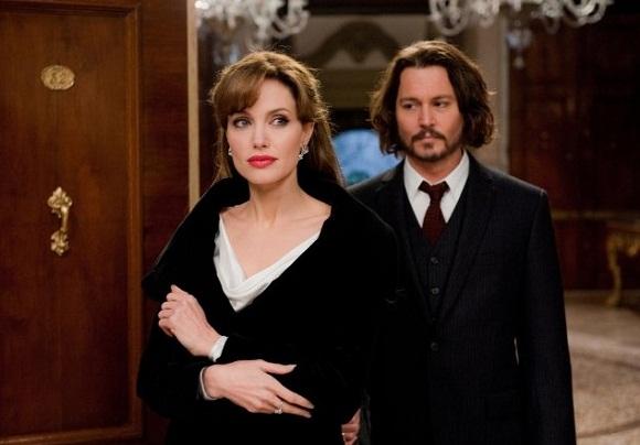 Angelina Jolie ir Johnny Deppas
