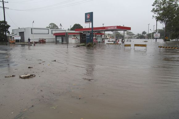 Potvyniai Australijoje