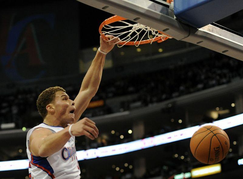 Pirmą sezoną NBA lygoje žaidžiantis Blake'as Griffinas išsiskiria įspūdingais dėjimais.