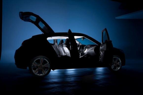 Gamintojo nuotr./Užuomina į Hyundai Veloster