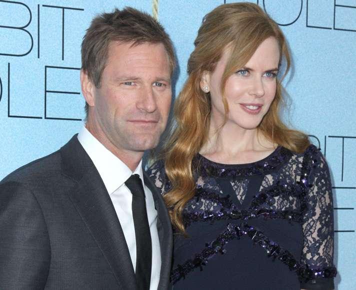 Aaronas Eckhartas ir Nicole Kidman