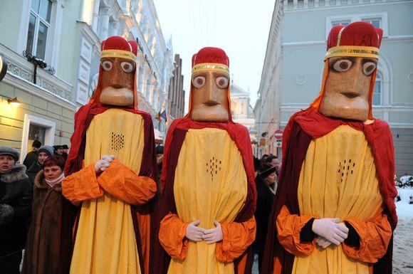 Trijų Karalių eisena