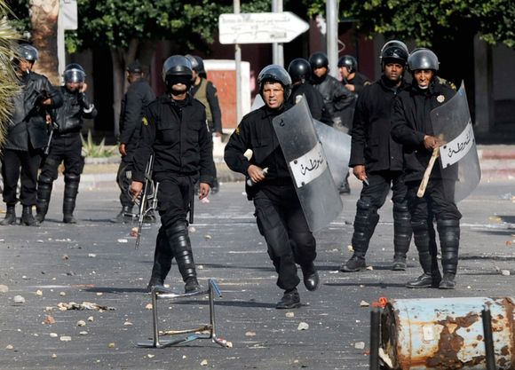 Tuniso pareigūnai