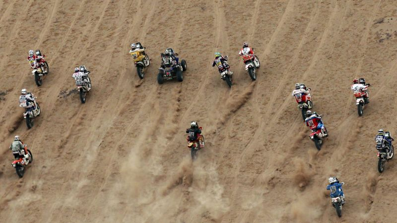 Devintojo Dakaro ralio etapo startas