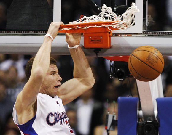 """Blake'as Griffinas ir """"Clippers"""" nutraukė 13-os iš eilės """"Heat"""" ekipos pergalių seriją."""