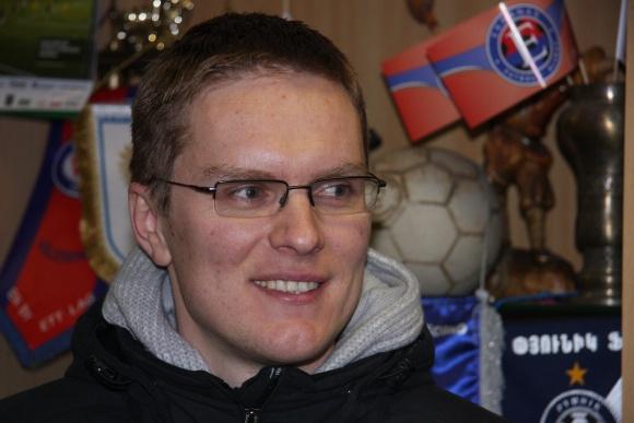 """Valdas Dambrauskas dirbs """"Ekrano"""" dublerių komandos vyr. treneriu."""