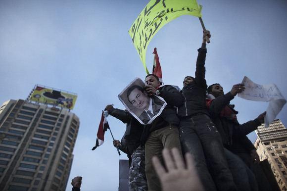 AFP/Scanpix nuotr./Protestuotojai