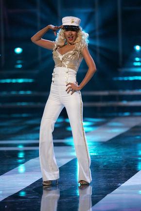 AOP nuotr./Christina Aguilera anksčiau