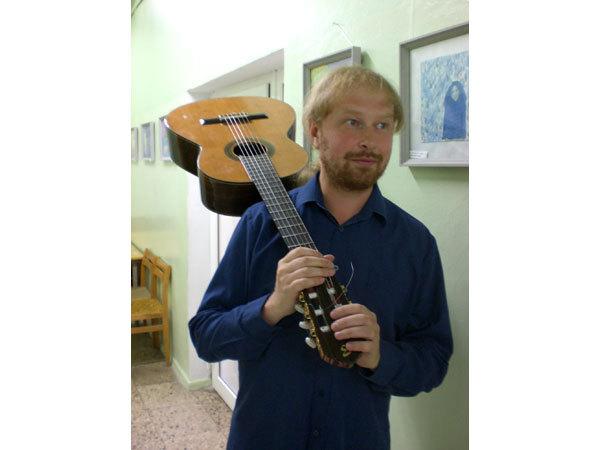 Gitaristas Valdemaras Mikuckis