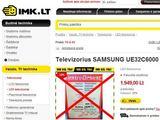 15min.lt nuotr./Internetinė parduotuvė Imk.lt lygina kainas su prekybos centrais.