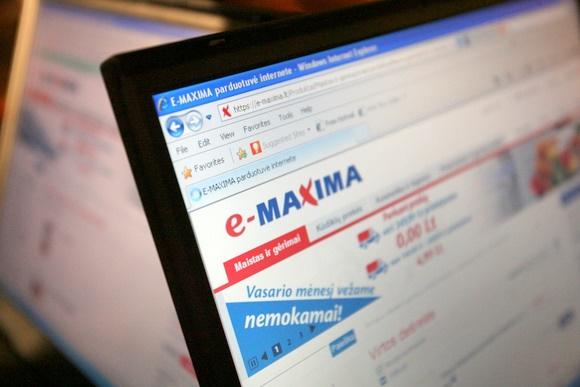 """Internetinė parduotuvė """"e-Maxima"""""""