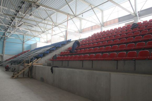 Kauno rajono savivaldybės nuotr./Įrenginėjamame centre jau yra kėdės