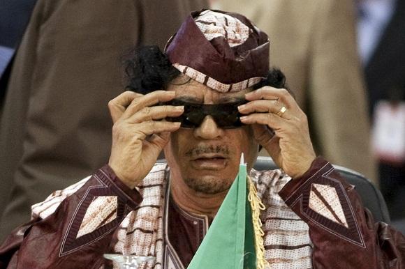 Libijos diktatorius Muammaras Khadafi