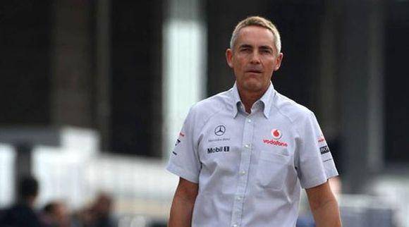"""""""McLaren"""" komandos vadovas Martinas Whitmarshas"""