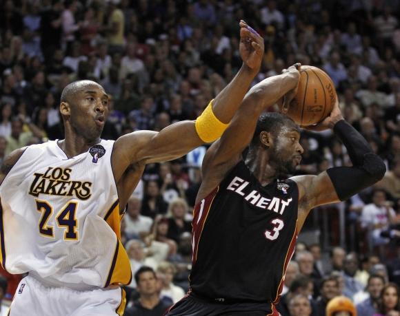 Kobe Bryantas ir Dwyane'as Wade'as