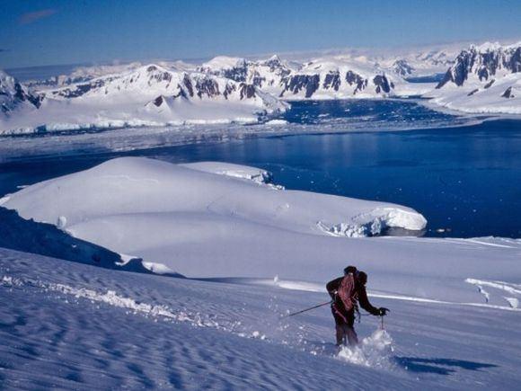 PLKSMA nuotr./Pasaulio lietuvių slidinėjimo varžybos Antarktidoje