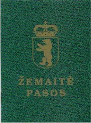 Žemaičių kultūros draugijos nuotr./Žemaičių pasas