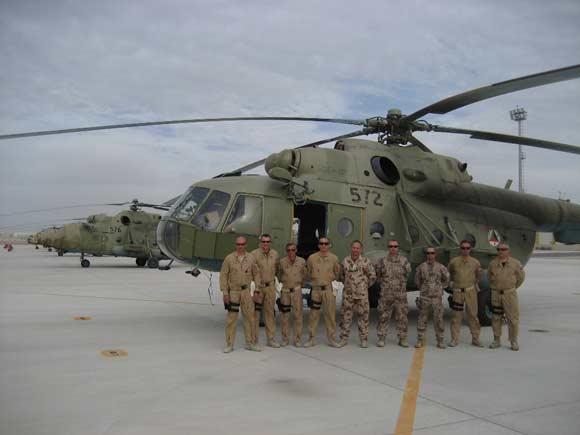 NATO Mokymo misija prie Afganistano kariškių sraigtasparnių