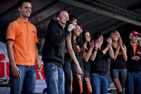 Algirdo Venskaus/Waska.lt nuotr./Fast Lap lenktynių akimirka