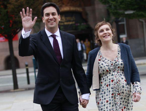 Edas Milibandas ir Justine Thornton