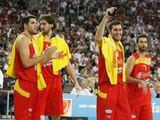 """""""Reuters""""/""""Scanpix"""" nuotr./Ispanijos rinktinės krepšininkai"""