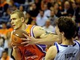 """AFP/""""Scanpix"""" nuotr./Robertas Javtokas pelnė 12 taškų."""