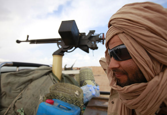 Reuters/Scanpix nuotr./Libijos sukilėlis