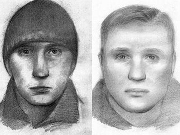 Įtariamųjų sprogdinimu Minske fotorobotai