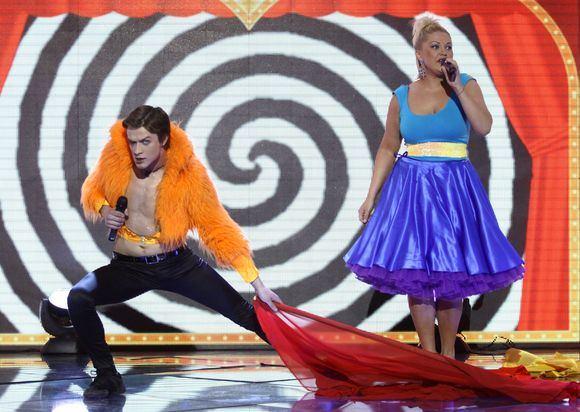Irmanto Gelūno/15min.lt nuotr./Žvaigždžių duetų poros demonstravo savo talentus.