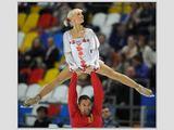 """""""Reuters""""/""""Scanpix"""" nuotr./Aliona Savchenko ir Robinas Szolkowy (Vokietija)"""